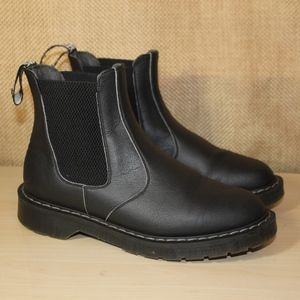 Vegetarian Shoes Airseal Chelsea Black Boots- 7